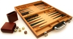 Backgammon - 15 Inch Burlwood Set