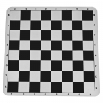 Black Silicone Tournament Chess Mat