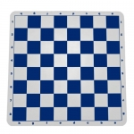 Blue Silicone Tournament Chess Mat