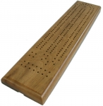 Cribbage Board - Two Track Walnut