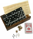 Dominoes and More 10 In 1 Game Set