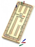 Drueke Three-Track Cribbage Master