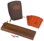 Drueke Travel Folding Cribbage Set