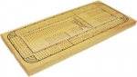 Four Track Cribbage Board