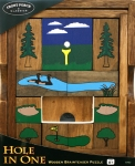 Hole In One Wooden Brainteaser Puzzle
