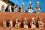 Isle of Lewis Pewter Chessmen