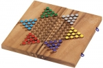 Monkey Pod Chinese Checkers Set