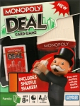 Monopoly Deal Card Game With Shuffle Shaker