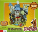 Scooby-Doo Haunted House 3D Board Game