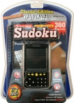 Sudoku Electronic Handheld Game With Puzzle Book