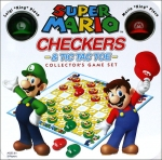 Super Mario Checkers and Tic Tac Toe
