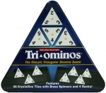 Tri-Ominos Deluxe In Triangular Tin