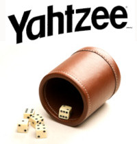 Yahtzee Dice and Cup