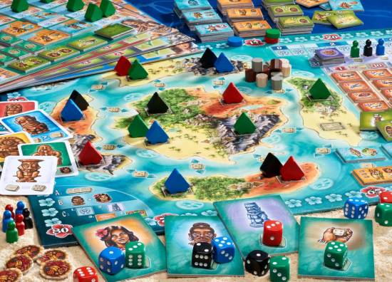 Bora Bora Game Board