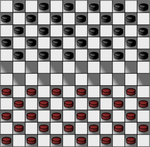 Canadian Checkers Checkerboard