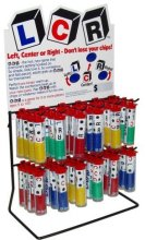 LCR (Left-Center-Right) Dice Game