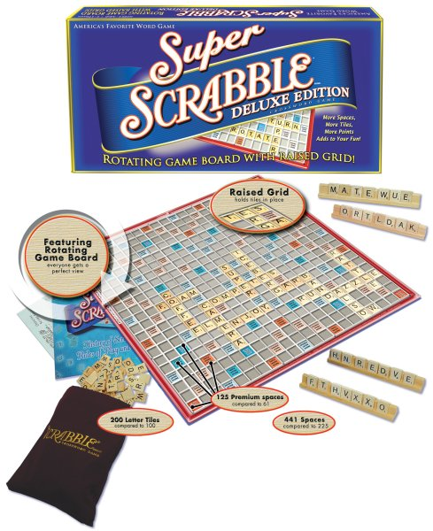 Super Scrabble Deluxe