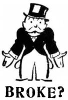Uncle Pennybags ... Broke?