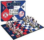 Red Sox vs. Yankees Chess Set
