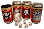 Simpsons Duff Dice Game