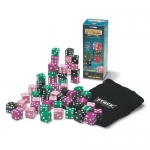 Stack Giant Dice Deluxe (Pink, Purple, Green, Black Dice)