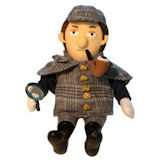 Sherlock Holmes Little Thinker Plush Toy