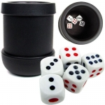 Heavy Duty Dice Cup w/Dice