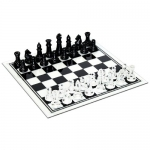 Black & White Glass Chess Set