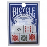 Bicycle Poker Dice
