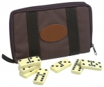 Double Six Dominoes Travel Set