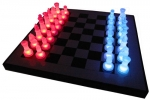 Illuminated LED Chess Set