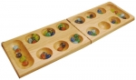 Solid Wood Folding Mancala Set
