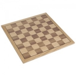 Flat Oak Veneer Chess Board (16 inch)