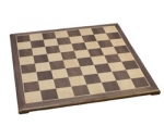 Raised Walnut Chess Board (15 inch)