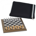 6-inch Plastic Magnetic Chess Set (with Carrying Case)