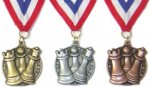 Chess Medals (Gold, Silver, or Bronze)