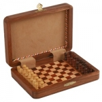 7-inch Pegged Wood Travel Chess Set