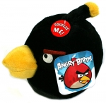 Angry Birds Plush - Large Black