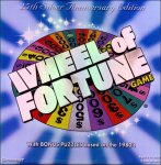 Wheel Of Fortune 25th Silver Anniversary Edition