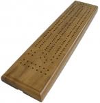 Cribbage Board - Two Track Walnut