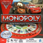Monopoly: Cars 2 Lightning McQueen Racetrack Game