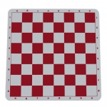 Red Silicone Tournament Chess Mat
