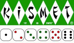 Kismet Logo and Dice