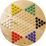 Chinese Checkers Set (w/Marbles)
