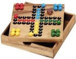 Wooden Ludo Set