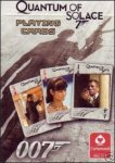James Bond 007 Quantum of Solace Collectible Playing Cards